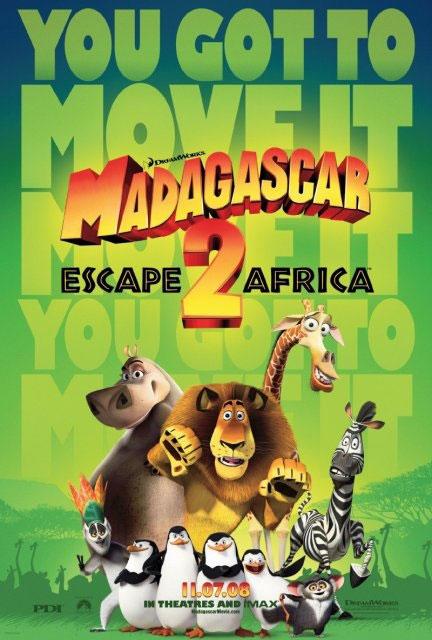 马达加斯加2海报